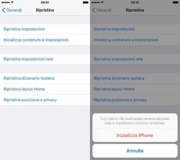iPhone ripristinato e il recupero dei dati