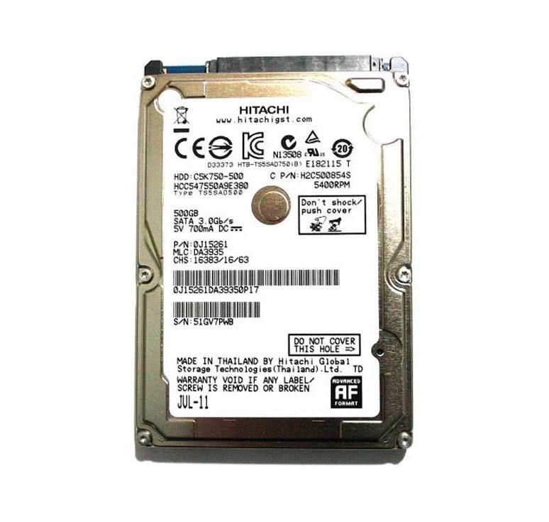 recuperare dati da un hard disk Hitachi con testine danneggiate che non ha subito urti