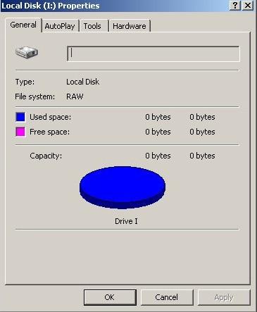 file system danneggiato recupero dati
