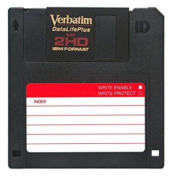 recupero dati floppy disk verbatim