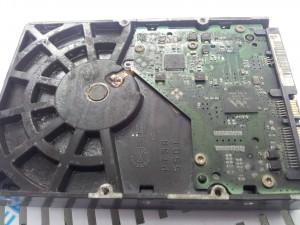 hard disk odore di bruciato